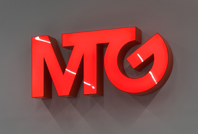 MTG by BVD #sign