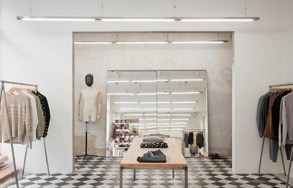 Arrhov Frick: Our Legacy Store – Gothenburg - Thisispaper Magazine #retail