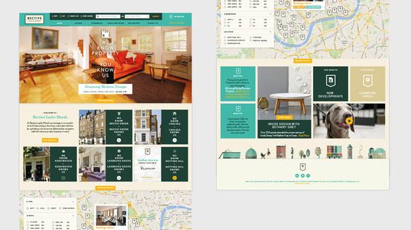Bective Home #homepage #ux #design #ui #digital #brand #web