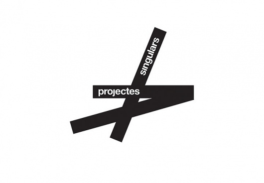 Projectes Singulars / Interior design and architecture services. 2005 #logo