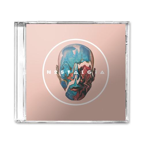 Nostalgia XXXI CD Cover #music #identity #branding #typography