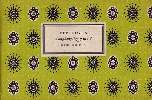 Penguin Scores no. 18: 1953 | Flickr - Photo Sharing! #design #graphic #book #cover #tschichold #jan #music #patterns