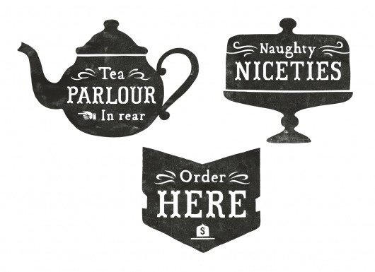 All sizes | A Bit of Crumpet signage | Flickr - Photo Sharing! #illustration #tea