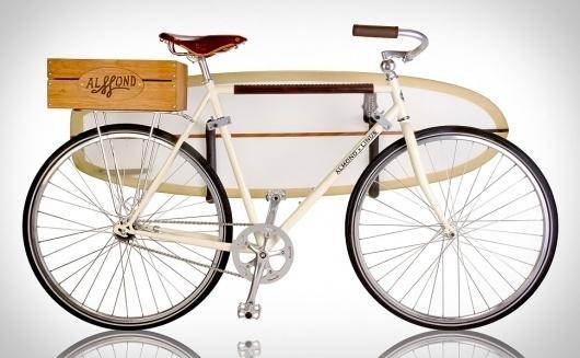 Almond x Linus Summer Bike | Uncrate #summer #bike #surf #fixed