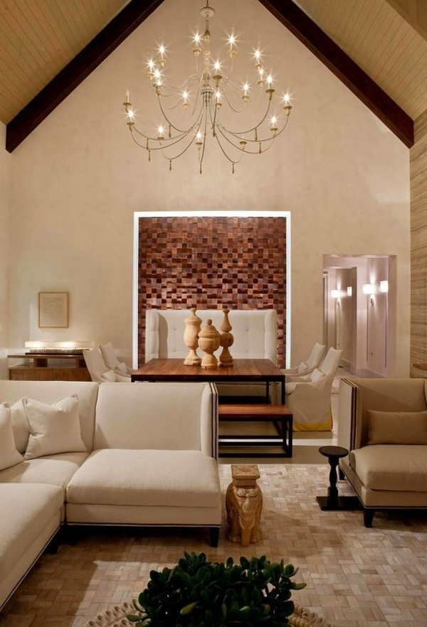 Artistic decor combined with luxury interior #interior #house #artistic #decor #art #paintings #residence