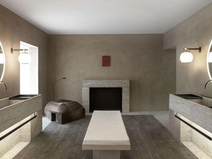 The Bath Salon by Nicolas Schuybroek Architects