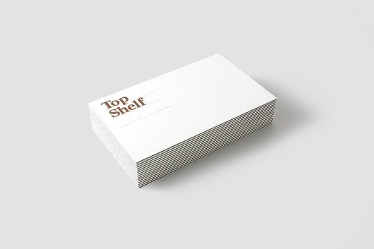 Ben Jennings   Top Shelf #card #identity #business