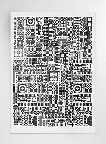 FFFFOUND! | 74_geometrica-ii--3.jpg 510×689 pixels #geometric