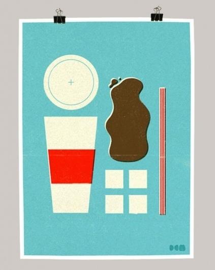 design work life » cataloging inspiration daily #illustration #screenprint #pop