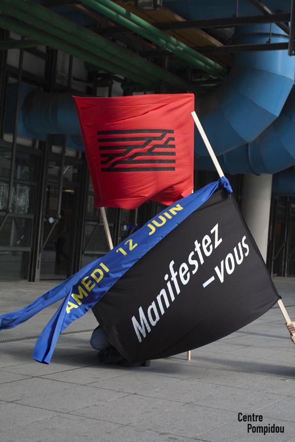Nostalgic for Garbage #flag #paris #typography