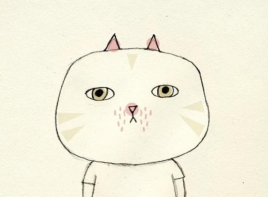 Studio Violet #illustration #studioviolet #cat