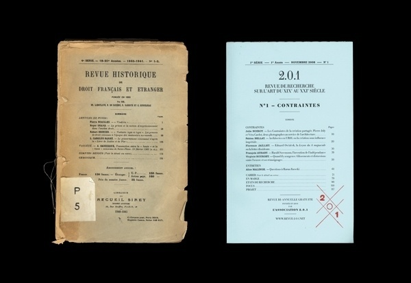 Coline Sunier & Charles Mazé / Bench.li #old #retro #press #printing #vintage #1900s #typography