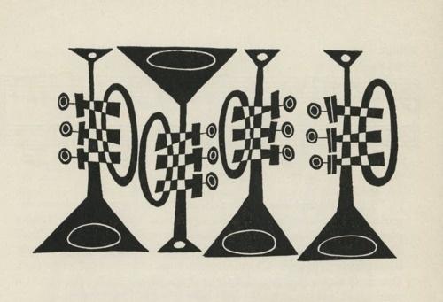 Mulligan Studios #first #jazz #of #design #book #the #cliff #illustration #langston #roberts #hughes