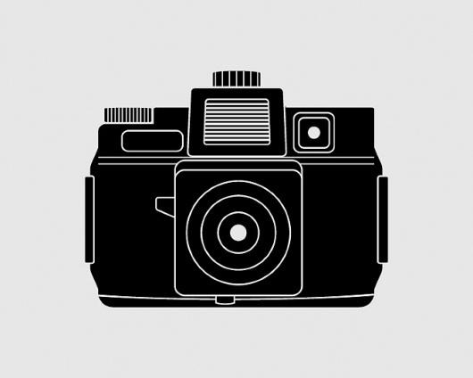 CI_Holga.jpg 670×536 pixels #camera #illustration