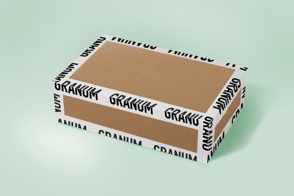 Graphic Design #tape #box #deform #type #sticker #package
