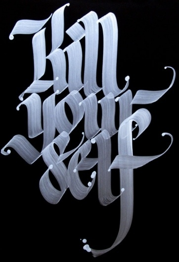 Calligraffiti #calligraphy #typography