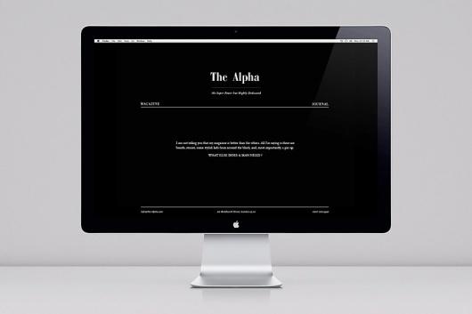 ALPHA WEB - www.marinecrozel.com #design #web