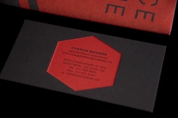 ESPACE CUISINE : Sébastien Bisson #business #branding #card #print #logo