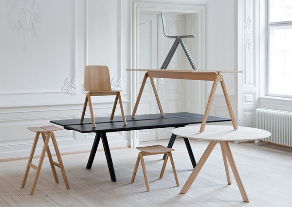 Bouroullec Collection by Ronan and Erwan Bouroullec #design #furniture #minimal #minimalist #table