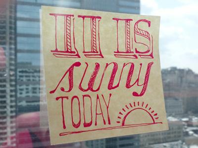 Sunny_400x300 #sunny