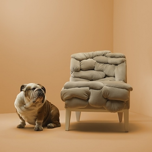 Never Mind the Object | We Heart; Lifestyle & Design Magazine #chair #design #interiors #furniture #bulldog