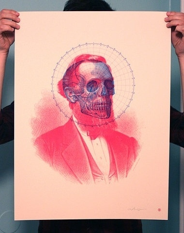 FFFFOUND! | Flickr Photo Download: Skullbeard Screen Print #poster