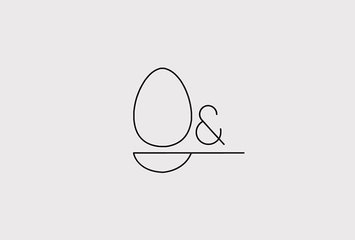 Egg & Spoon Cakes by Sophia Duhrin #logo #mark #symbol