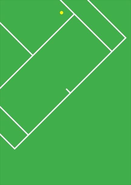 Poster #minimalism #olympics #tennis #poster