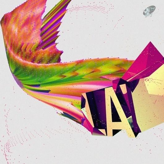 Waii_Waii Podcast - KFKS #kfks #red #design #graphic #color #kaerfkrahs #purple #music