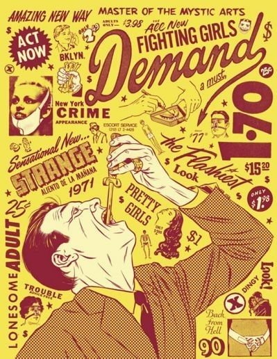 Daily Newsletter #type #illustration #poster