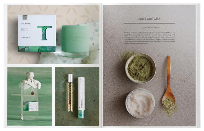 6.dieline_thymes_catalog.jpg #catalog #print #design #layout #editorial