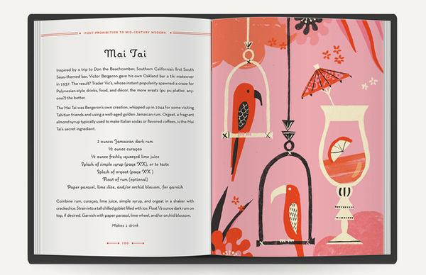 DKroll_Vintage_Cocktails_04 #illustration #layout