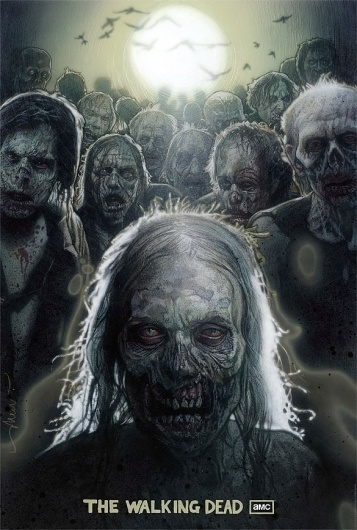 The Art of Drew Struzan - Signalnoise.com #drew #series #walking #dead #comics #struzan