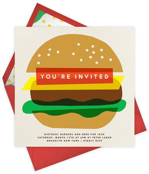 burger #illustration #letterpress
