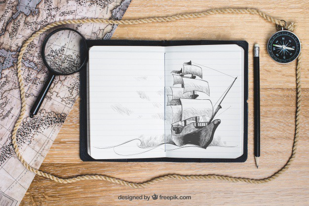 Sailing boat concept Free Psd. See more inspiration related to Mockup, Vintage, Travel, Paper, Map, Retro, World map, World, Mock up, Glass, Boat, Drawing, Rope, Compass, Adventure, Pirate, Decorative, Magnifying glass, Tourism, Vacation, Trip, Holidays, Sailor, Treasure, Story, Magnifier, Journey, Up, Vintage paper, Pirates, Concept, Traveling, Treasure map, Sailing, Vintage retro, Traveler, Captain, Explore, Caribbean, Magnifying, Worldwide, Composition, Mock and Touristic on Freepik.