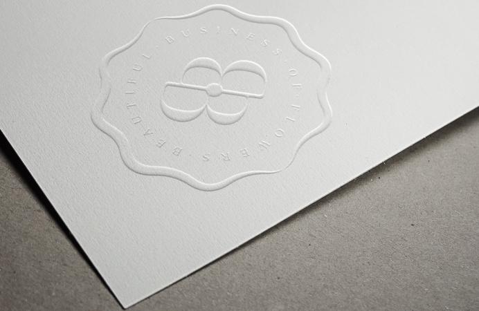 BB of Flowers #branding #logo #beautiful #business #flowers #weston #premium #usa #simple #minimal