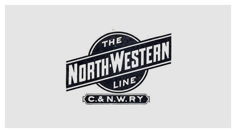 Railroad company logo design evolution #western #line #north #rail #logo