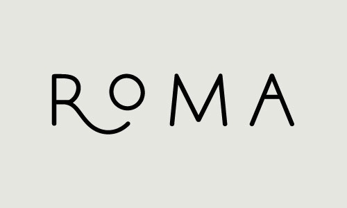 Roma #design #graphic #identity #craftsmanship #quality #typography