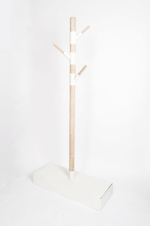 http://blog.leibal.com/furniture/storable-coat-rack/ #rack #coat