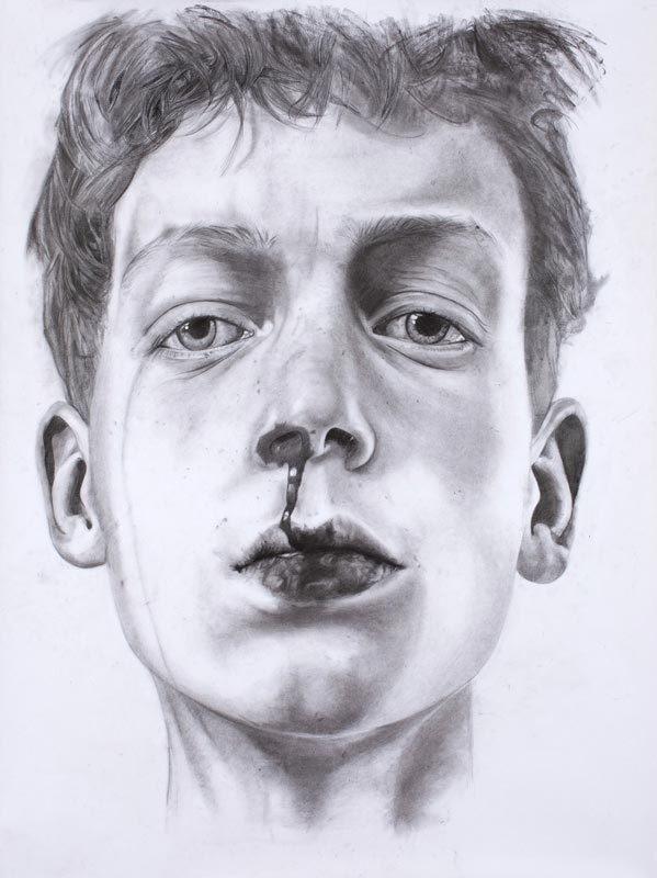 THE KID, God is dead, number I #illustration #pencil #art