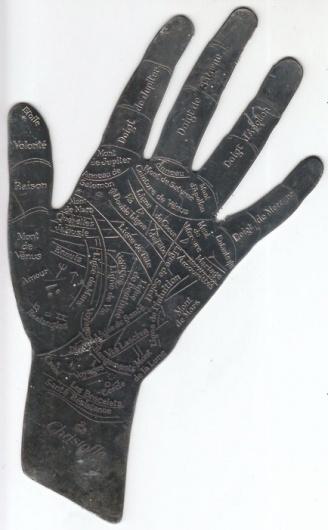 davidreno — vintage palm reading charts #palm #chart