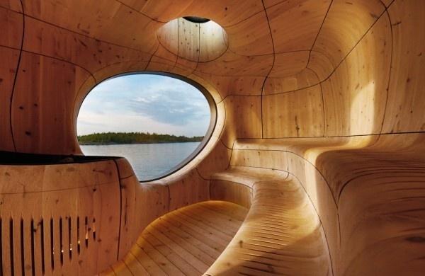 PARTISANS Grotto Sauna 1 #spaces