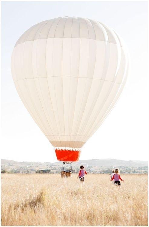 Likes   Tumblr #kids #field #baloon