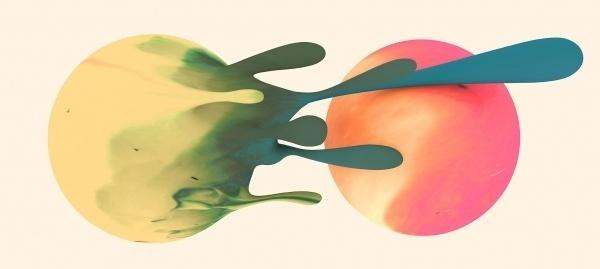 Hugo & Marie - Santtu Mustonen #blobs #circles #texture