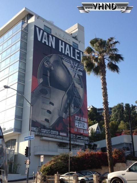 Van Halen News Desk #billboard