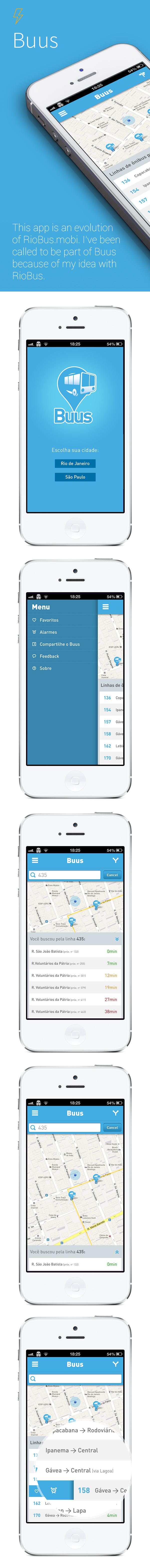 Buus #bus #user #design #travel #interface #ui #app