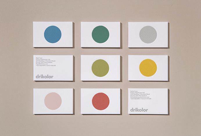 Drikolor by Inhouse #print #business #card