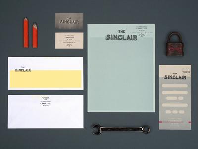 Sinclair_stationary #branding