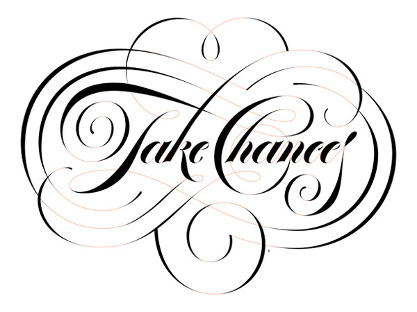 Boris Pelcer :: Lettering For You II #boris #lettering #lfy #you #borispelcer #chances #lfyii #for #custom #pelcer #2 #take
