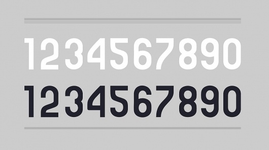 All sizes | numbers. | Flickr - Photo Sharing! #font #bocan #andrei #baucharest #numbers #type #bauhaus #typography